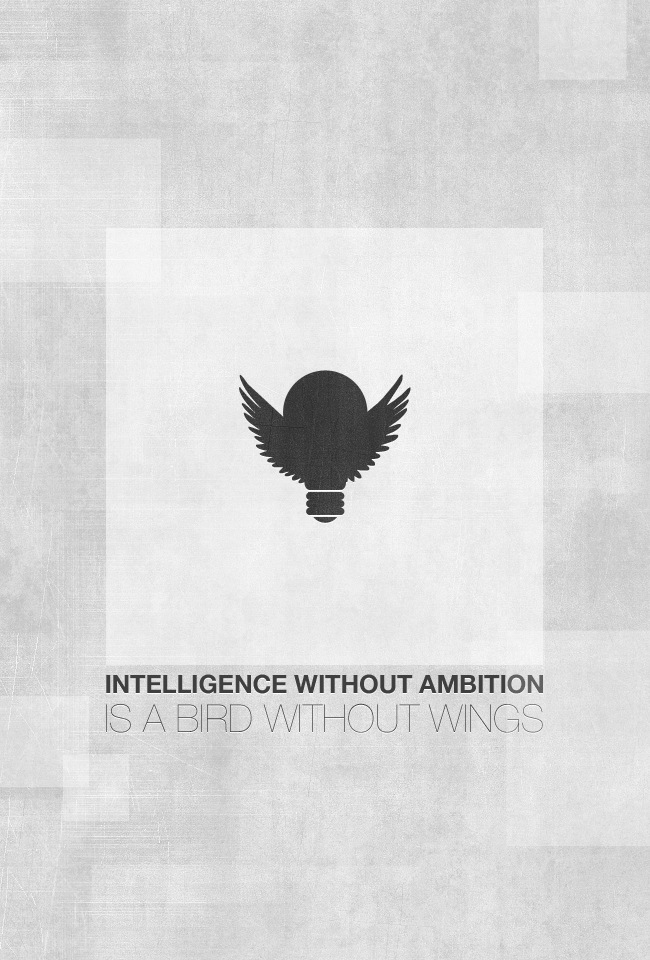 intelligence without ambition is a bird without wings essay Discover and share intelligence quotes intelligence without ambition is a bird without wings quotes intelligence is sexy intelligent women quotes.