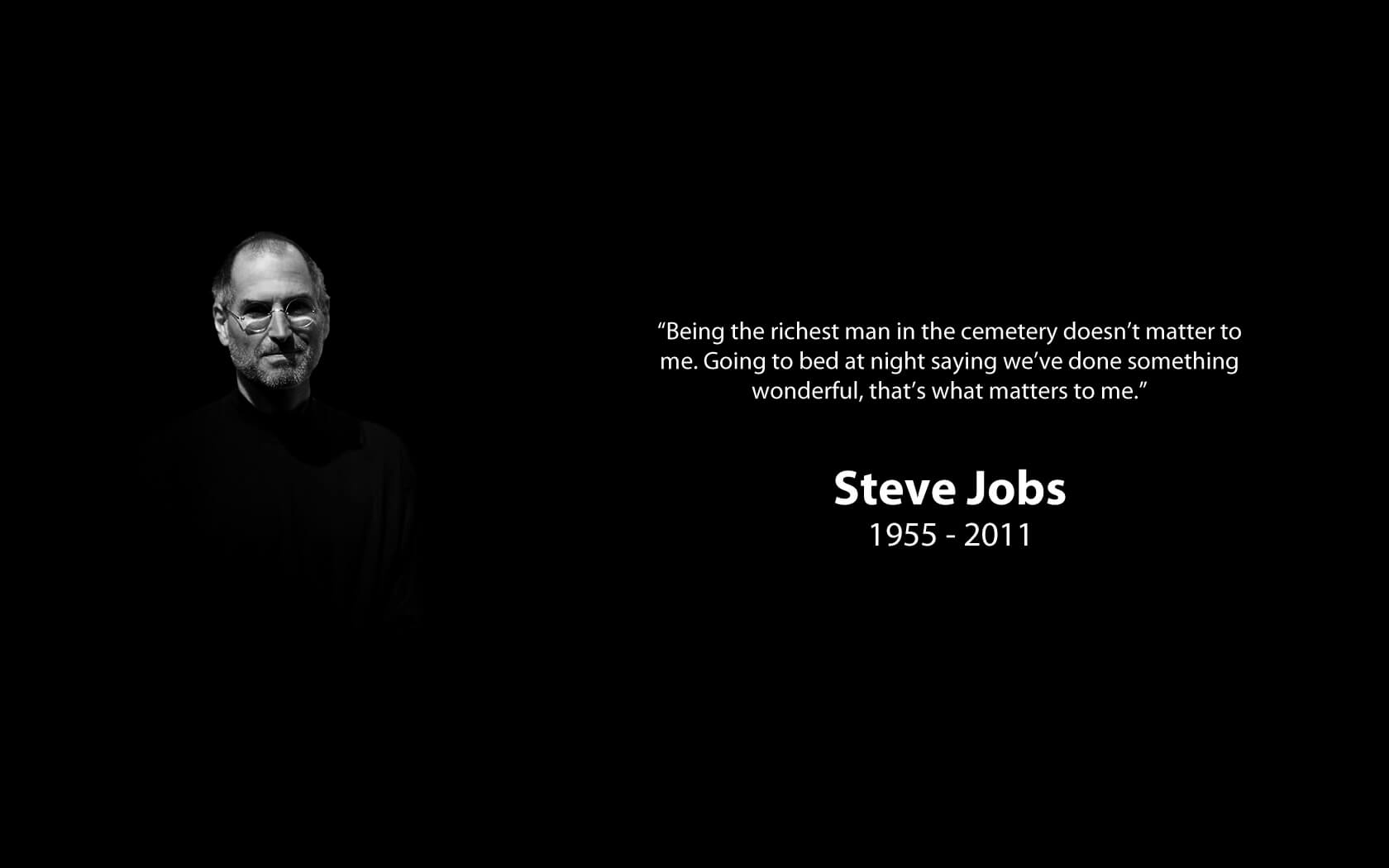 Steve Jobs Free Wallpapers With Quotes