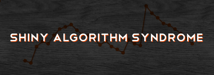 Klout, Egometrics, and 9 symptoms of shiny algorithm syndrome.