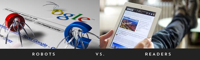 local seo robots vs. readers